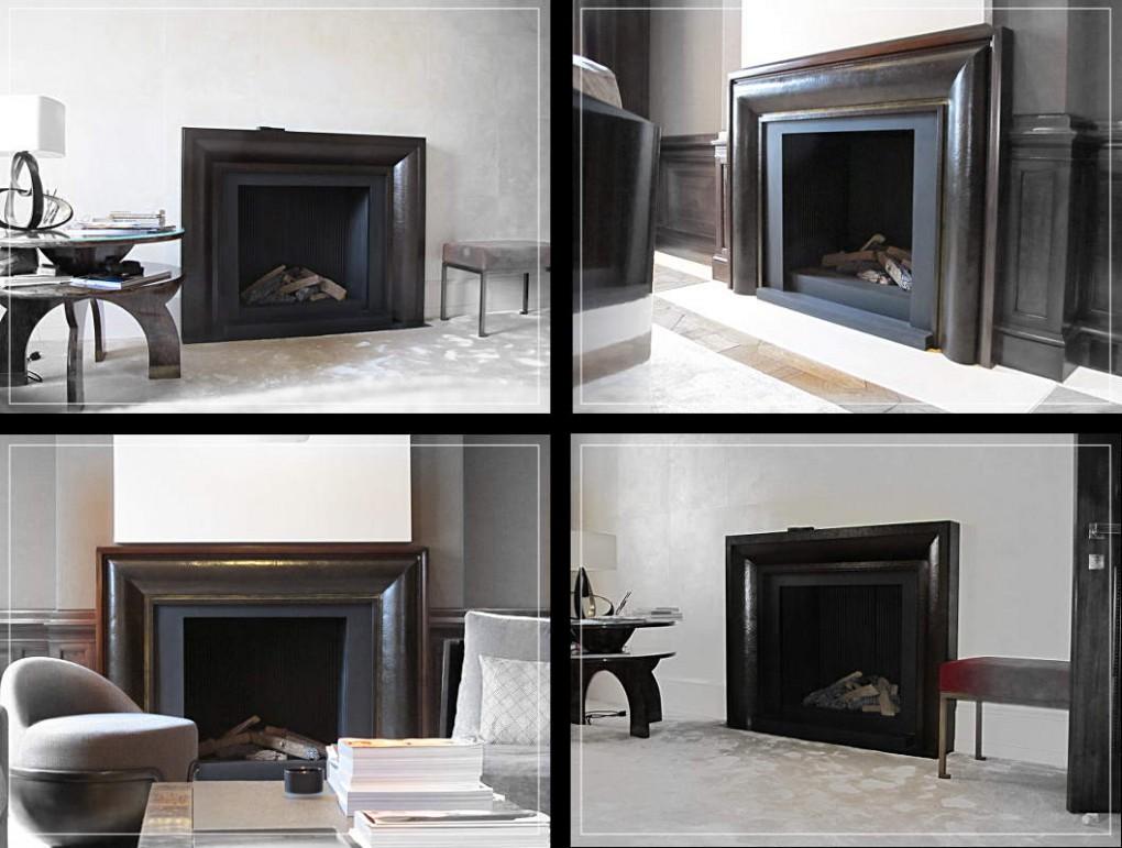cheminées en bronze éric Lopes de Sousa / planche contact